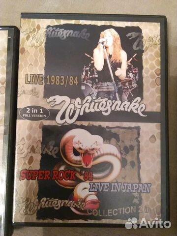 Коллекция dvd. Whitesnake. 3dvd