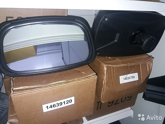 Зеркало экскаватор Volvo