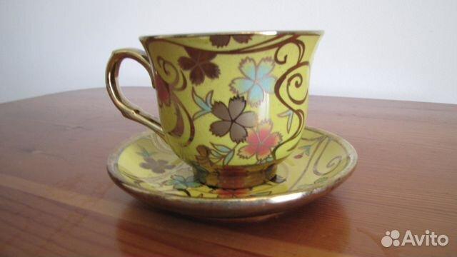 Красивая чайная пара  89217300160 купить 2