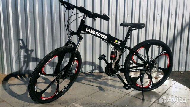 89527559801 Велосипед на литых дисках, складной
