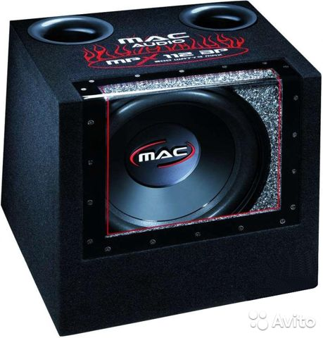 Сабвуфер Mac Audio MPX 112 BP— фотография №1