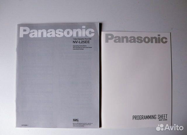 Видеомагнитофон Panasonic NV-25 (Япония)  купить 9