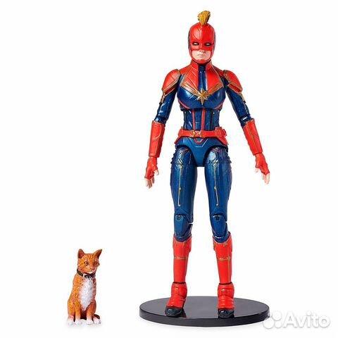 Фигурка Marvel Select Captain Marvel (Disney Store купить 4