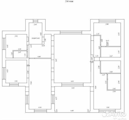Коттедж 820 м² на участке 24.7 сот.