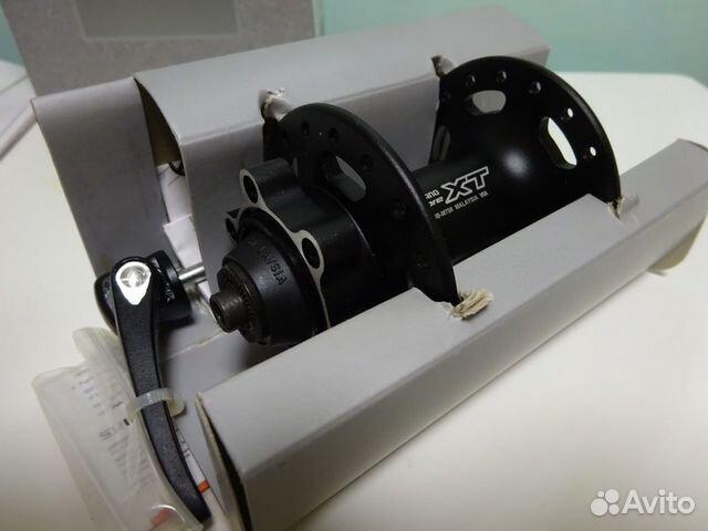 Передняя втулка Shimano XT-М756