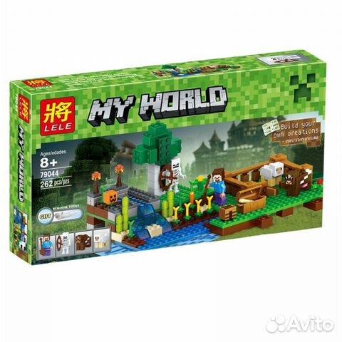 84942303606 Лего майнкрафт Ферма