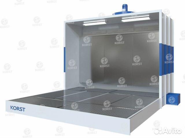 Покрасочная камера (водяная завеса, активный пол) 89674453784 купить 1