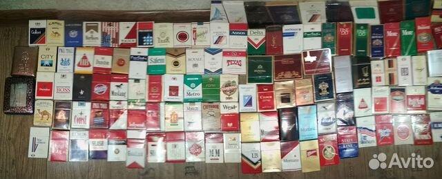 куплю коллекцию пачек от сигарет