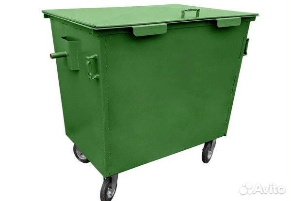 Контейнер для мусора тбо и тко бак, бункер купить 5