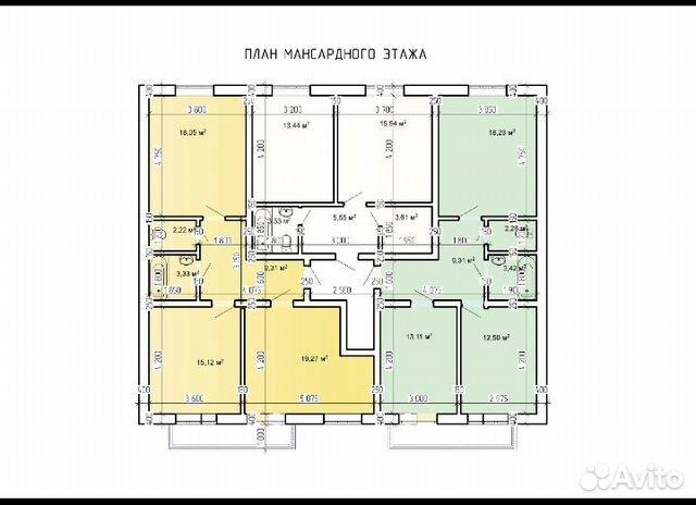 2-к квартира, 42 м², 2/3 эт. 89034237549 купить 2
