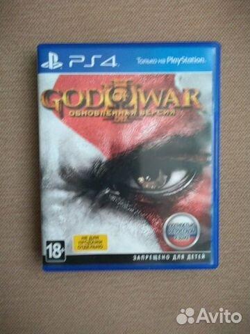 God of war 3 remastered ps4  89236366419 купить 1