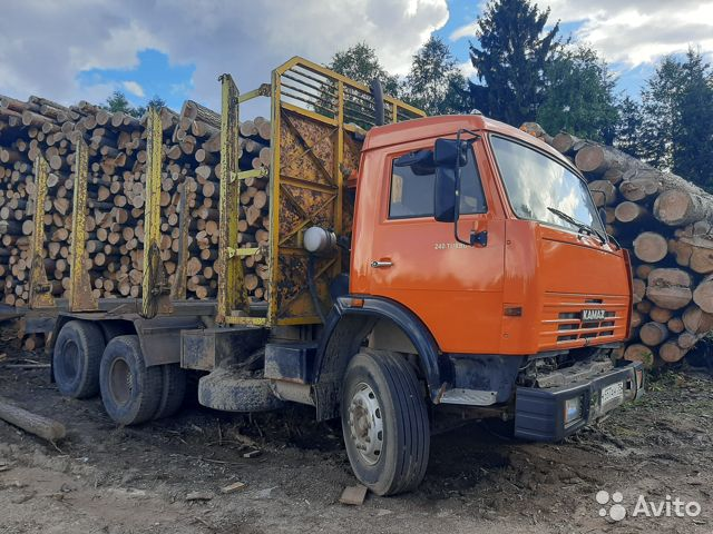 Камаз-53215 сортиментовоз  89095982325 купить 1