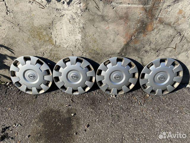 Комплект оригинальных колпаков Opel R16  89534684247 купить 1