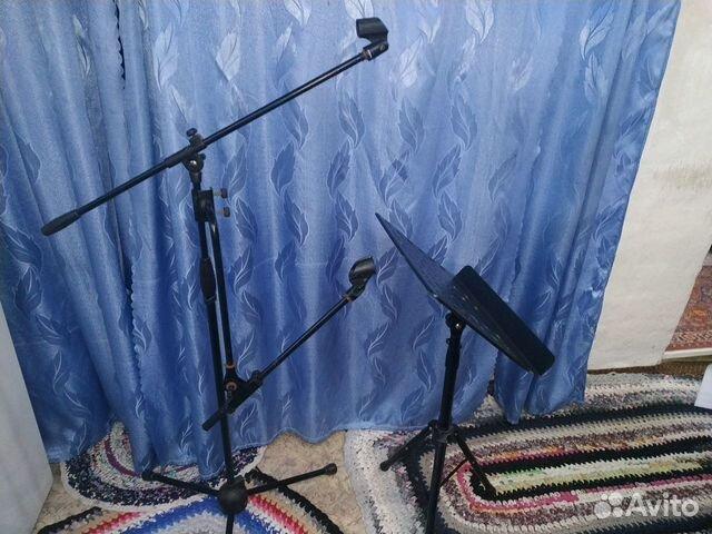 Стойки для микрофона и пульта  89135831780 купить 1