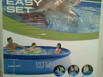 Надувной бассейн intex 3.66х0.91
