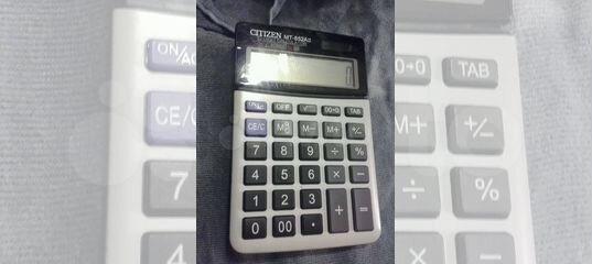 <b>Калькулятор Citizen MT</b> 852 a купить в Санкт-Петербурге на Avito ...
