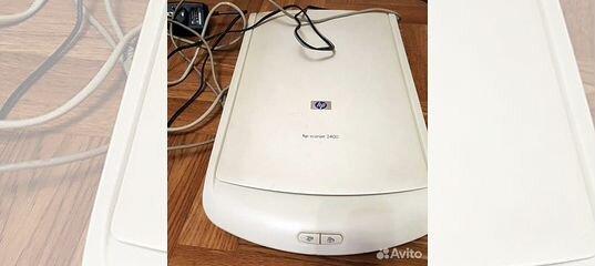 Планшетный сканер HP Scanjet 2400 или HP 3570C Б/у купить в Краснодарском крае | Бытовая электроника | Авито