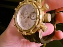 Invicta 14782 reserve bolt brown silicone