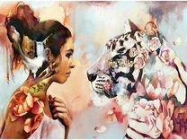 Картина по номерам Душа тигрицы