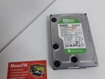Hdd 640gb wd green, wd6400aars — Товары для компьютера в Самаре