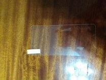 Стекло и силиконовый чехол черный на nokia 2