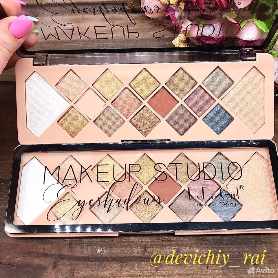 Палетка теней DoDo Girl MakeUp Studio  89877255410 купить 1