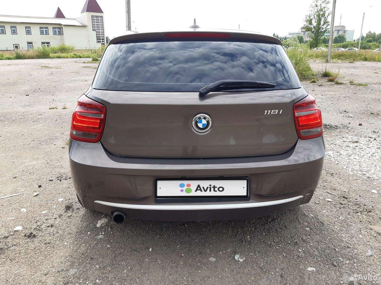 BMW 1 серия, 2013  89116117462 купить 5