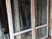 Штульповая Дверь пвх 267(220)(в) х192(ш)