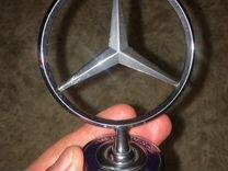 Значок на капот Mercedes