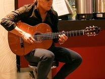 Живая музыка, гитарист на мероприятие