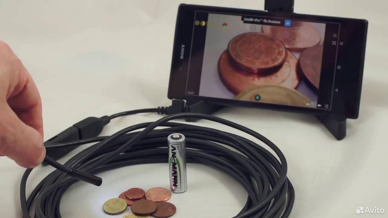Камера - эндоскоп для Android  89024823498 купить 1