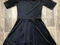 Платье из бархата 48 р-р