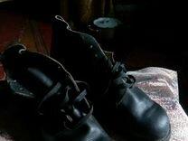 Ботинки хромовые