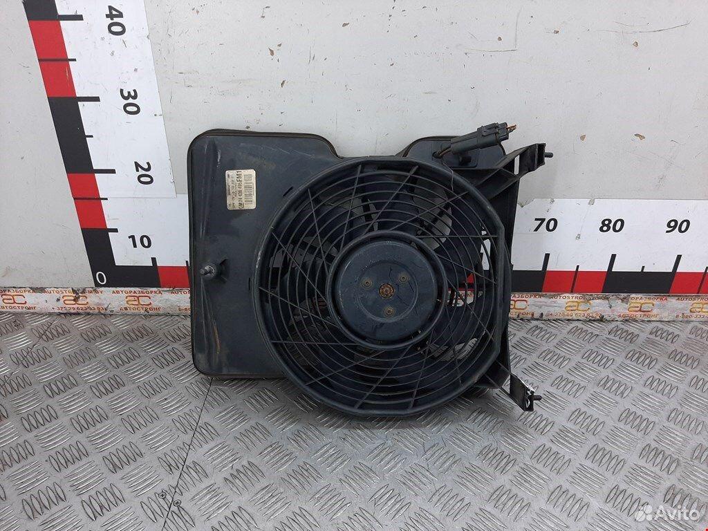 Вентилятор радиатора кондиционера для Opel Omega B