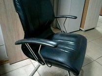 Кресло натуральная кожа