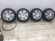 Зимние колеса VW Passat/Jetta 205/55 r16 — Запчасти и аксессуары в Дзержинске