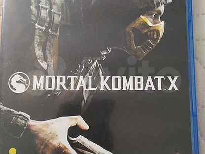 Игра для приставки Mortal Kombat X Ps4