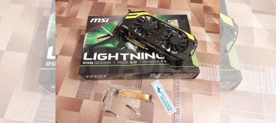 Продам MSI GeForce GTX 680 Lightning 2GB