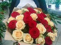 25,51,101 роза.Доставка 24/7 — Растения в Саратове