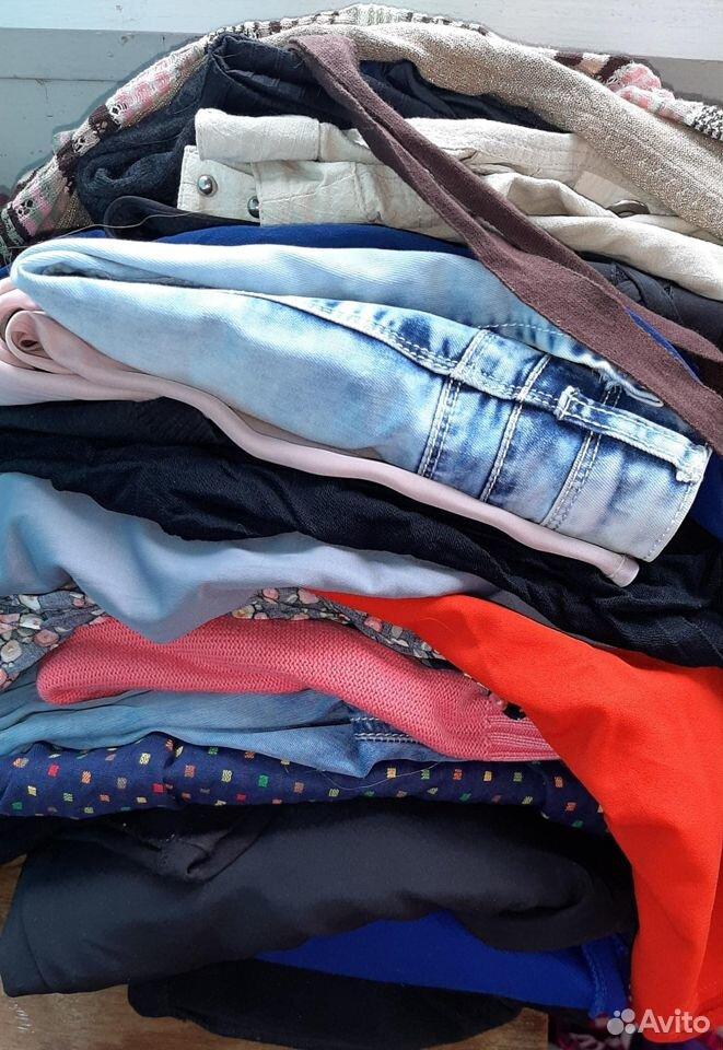 Пакет одежды 46-48 размер  89106881219 купить 1