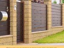 Заборы и ворота из дпк