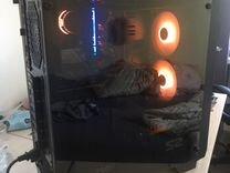 Компьютер для игр, 3d, рендера, светится, быстрый
