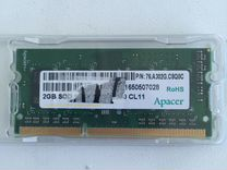 Sodimm DDR3L Apacer 2Gb 1,35V 1600