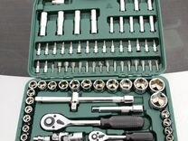 Набор инструментов для авто в чемодане SATA