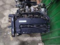 Двигатель мотор Киа Спектра Spectra 1.6