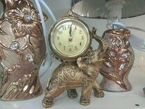 Часы-слоник