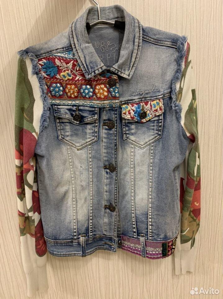 Джинсовая куртка женская  89206691213 купить 1