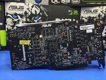 Asus GeForce GTX 1070 dual 8Gb (1 год гарантии)