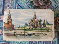 Жестяная банка от монпасье СССР Москва