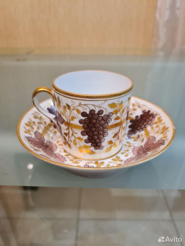 Антикварная чайная пара ифз  89013700120 купить 1